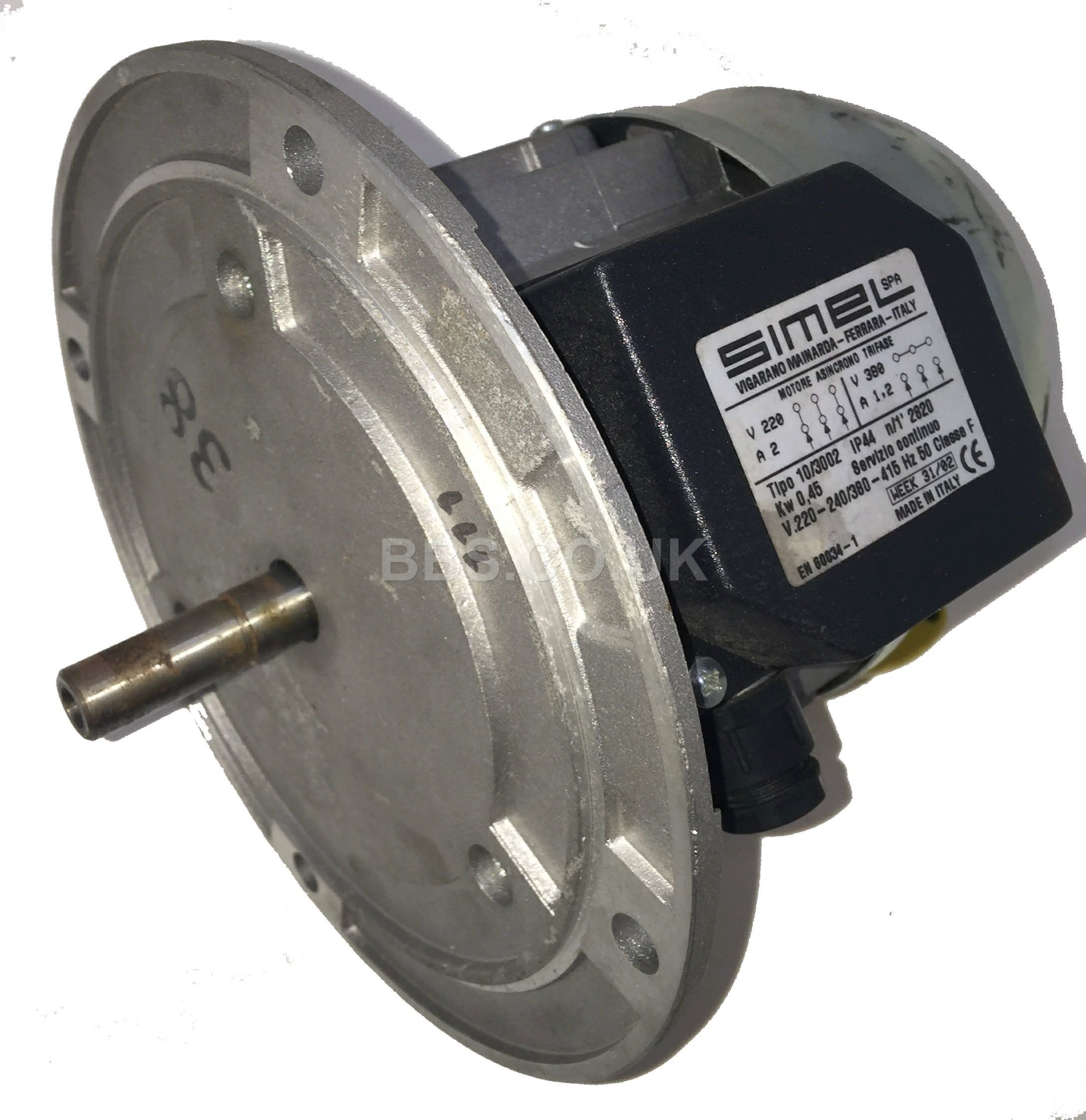 Riello Motor RS38 & RL38 3PH 415v